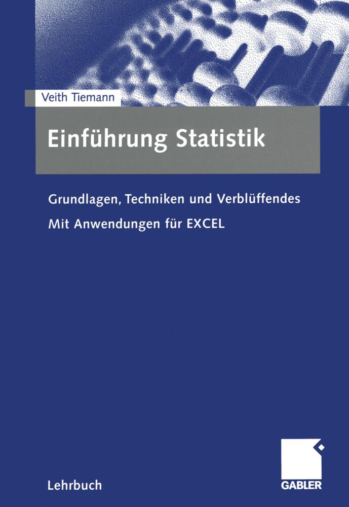 Einführung Statistik als Buch (kartoniert)