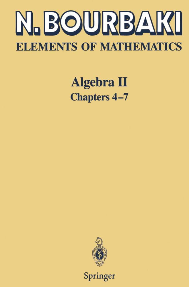 Algebra II als Buch (kartoniert)