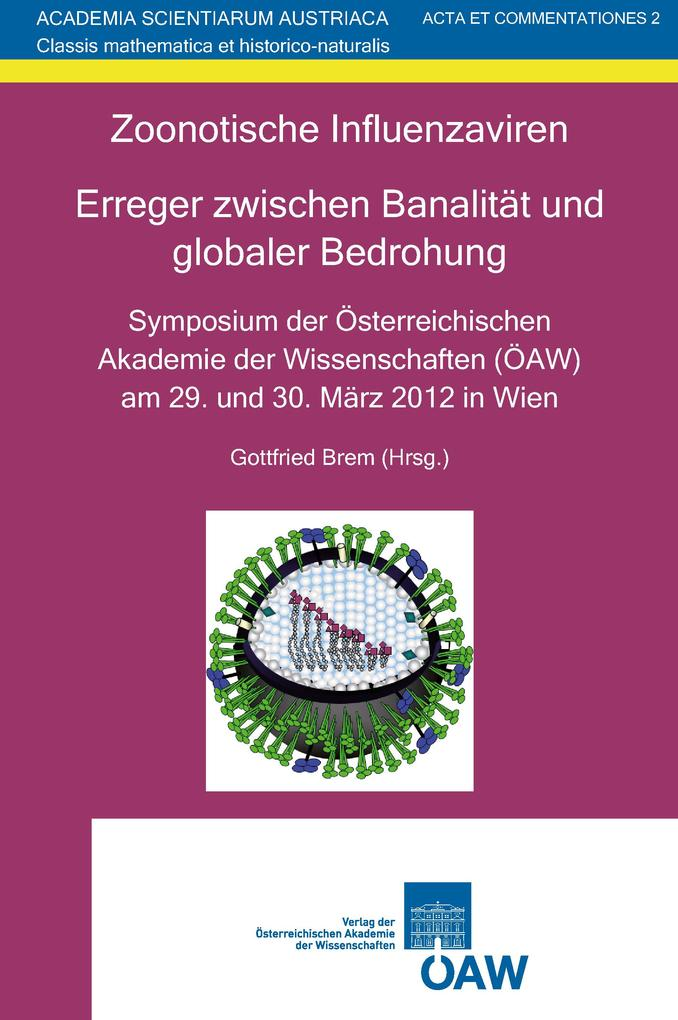 Zoonotische Influenzaviren. Erreger zwischen Banalität und globaler Bedrohung als eBook pdf