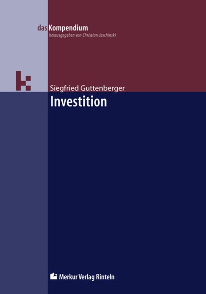 Investition als Buch (kartoniert)