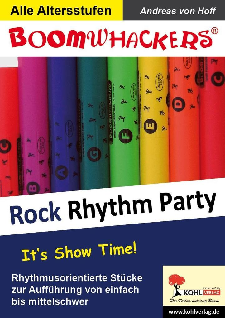 Boomwhackers - Rock Rhythm Party als eBook epub