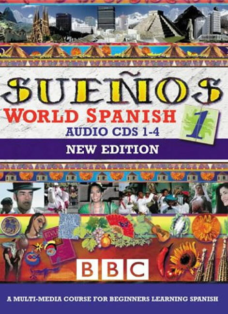 SUENOS WORLD SPANISH 1 CDS 1-4 NEW EDITION als CD