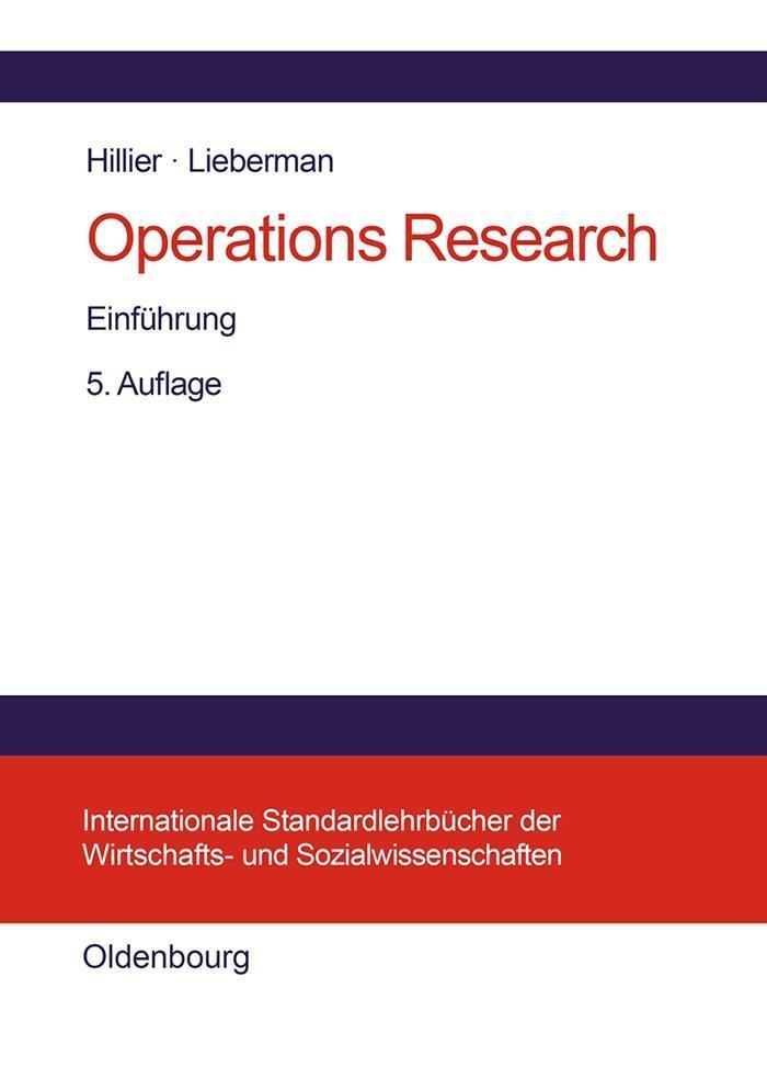 Operations Research als eBook pdf