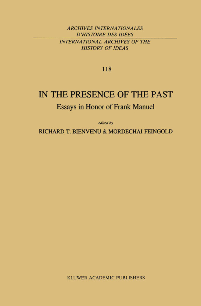 In the Presence of the Past als Buch (gebunden)