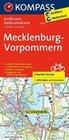 KOMPASS Großraum-Radtourenkarte Mecklenburg-Vorpommern 1 : 125 000
