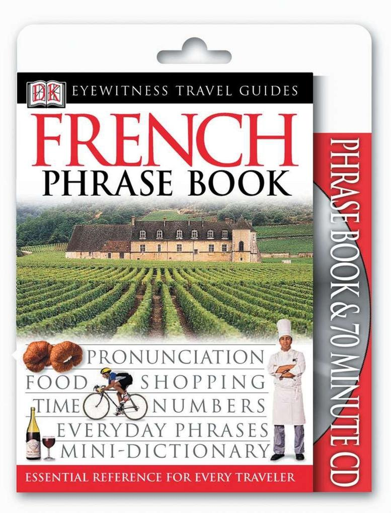 French Phrase Book & CD [With CDROM] als Taschenbuch