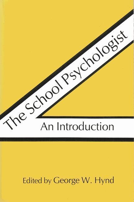 The School Psychologist: An Introduction als Taschenbuch