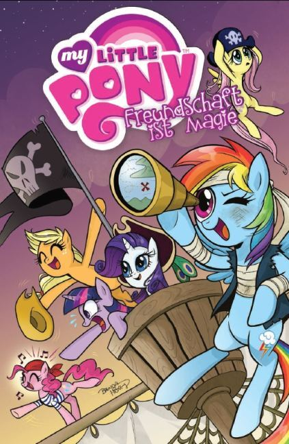My little Pony 04 - Freundschaft ist Magie als Taschenbuch