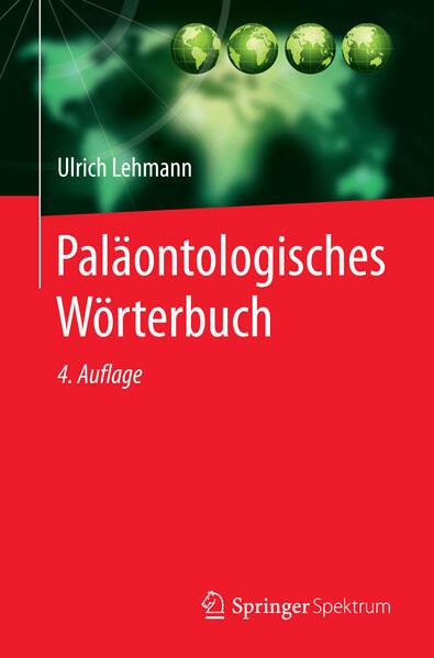 Paläontologisches Wörterbuch als Buch (kartoniert)