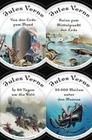 Jules Verne - Romane (Vier Bände)
