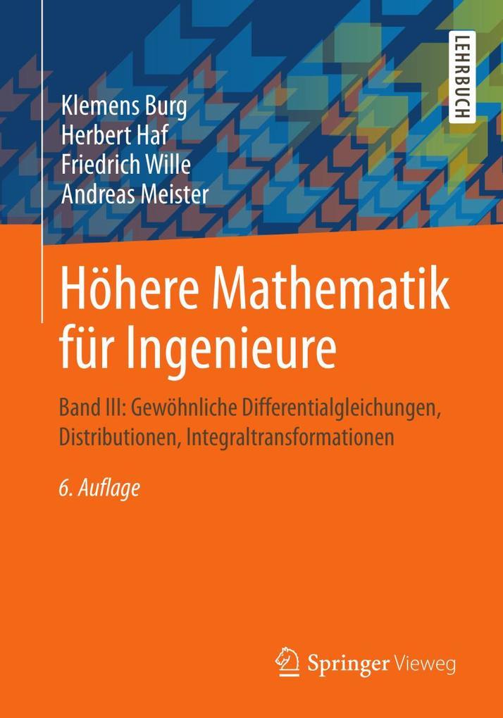 Höhere Mathematik für Ingenieure 03 als eBook pdf