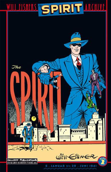 Der Spirit als Buch (kartoniert)
