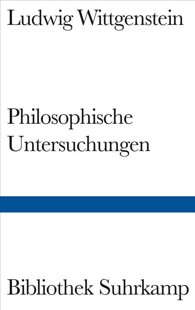 Philosophische Untersuchungen als Buch (gebunden)