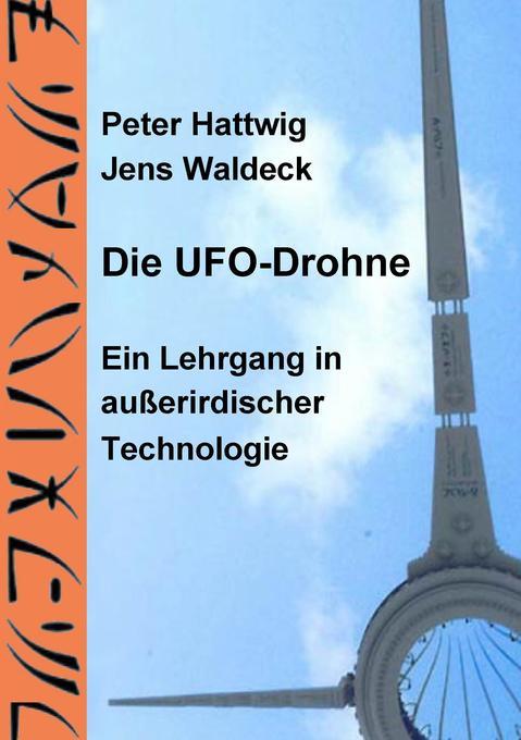 Die UFO-Drohne als Buch