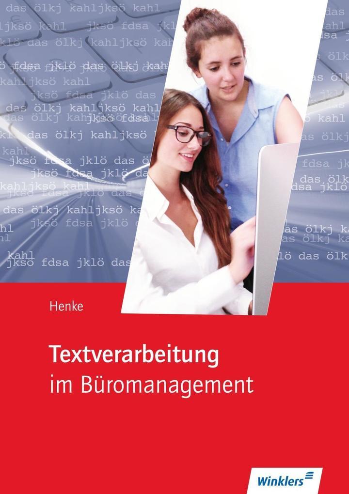 Textverarbeitung im Büromanagment. Schülerband als Buch (kartoniert)