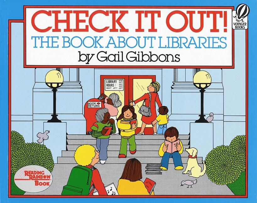 Check It Out!: The Book about Libraries als Taschenbuch