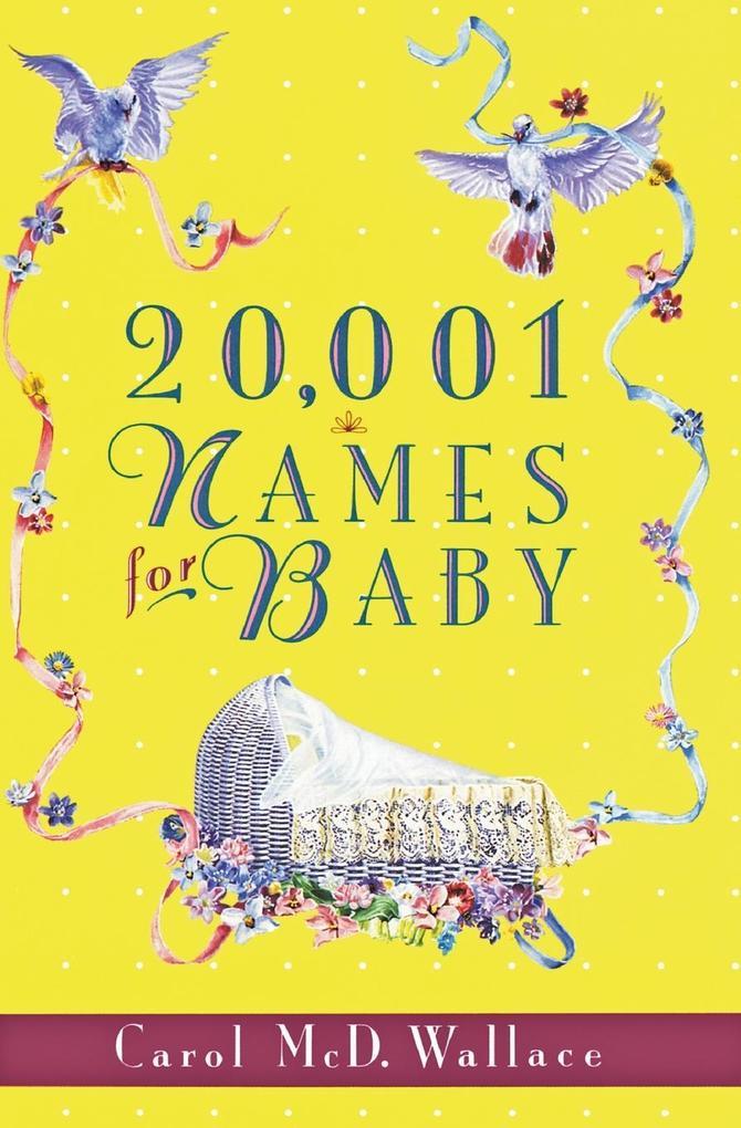 20,001 Names for Baby als Taschenbuch
