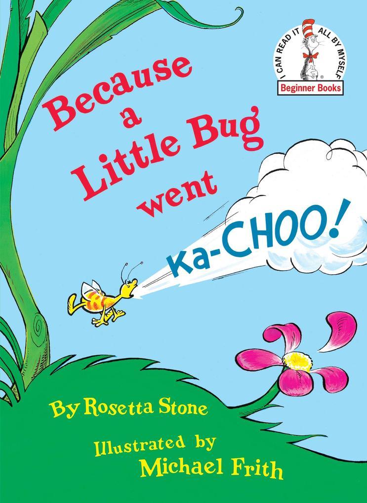 Because a Little Bug Went Ka-Choo! als Buch (gebunden)