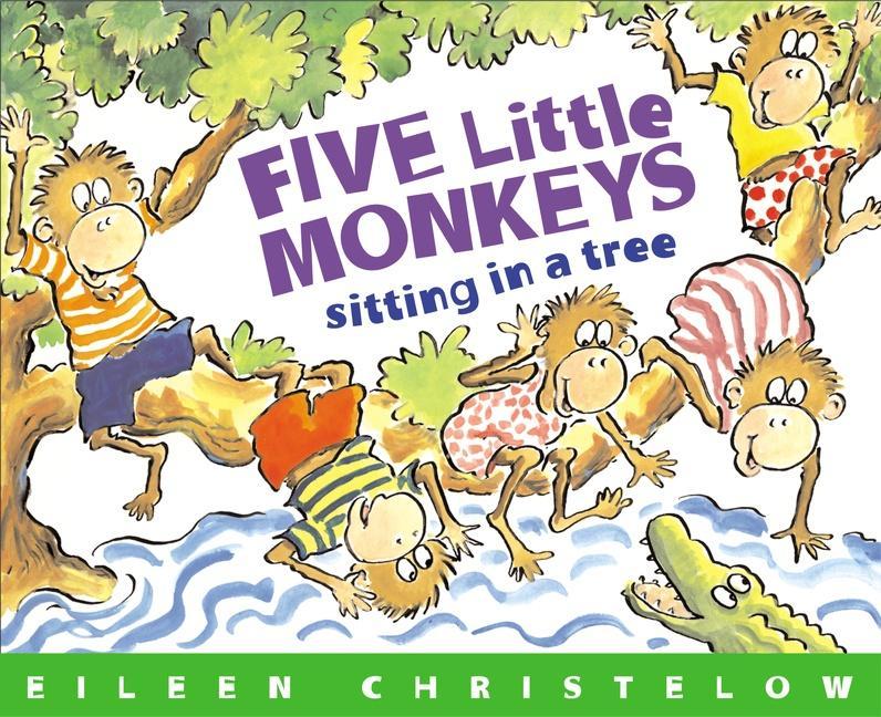 Five Little Monkeys Sitting in a Tree als Taschenbuch