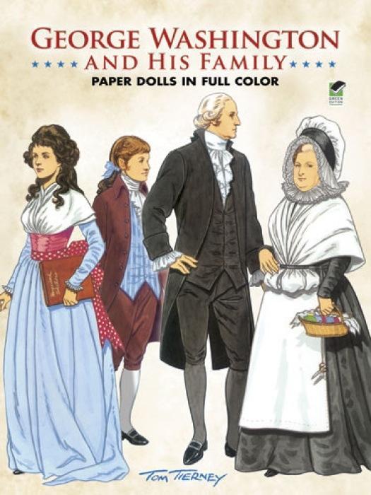 George Washington and His Family Paper Dolls als Taschenbuch