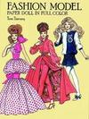 Fashion Model Paper Doll in Full Colour