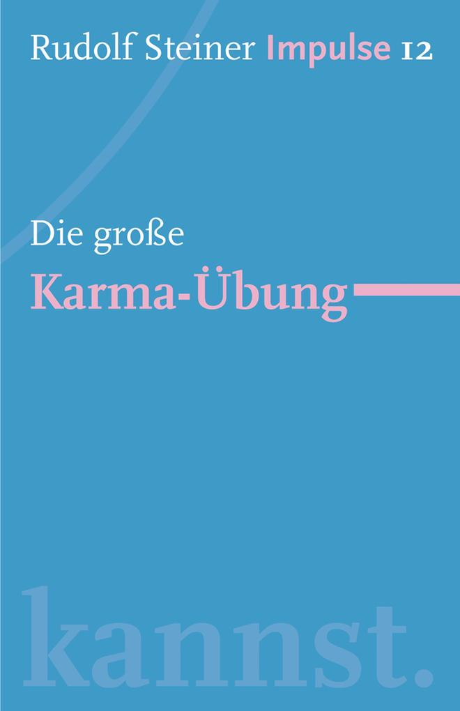 Die große Karma-Übung als eBook epub