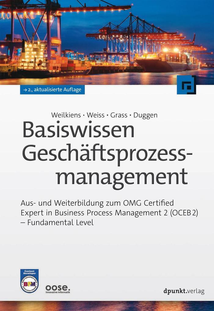 Basiswissen Geschäftsprozessmanagement als eBook epub