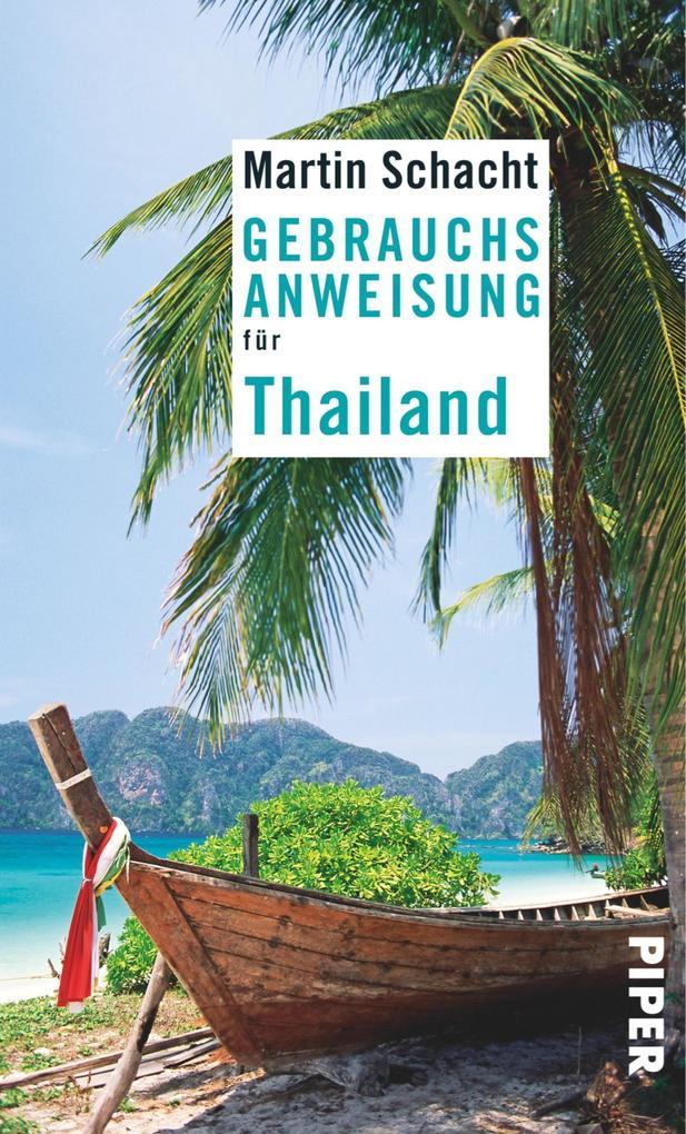 Gebrauchsanweisung für Thailand als eBook epub