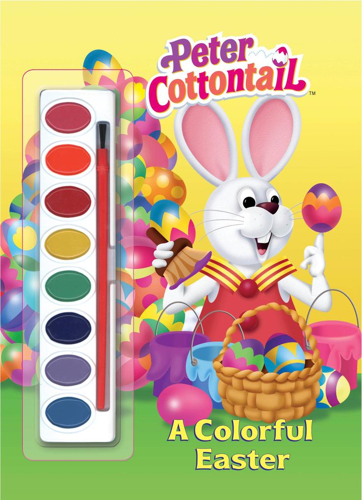 A Colorful Easter (Peter Cottontail) als Taschenbuch