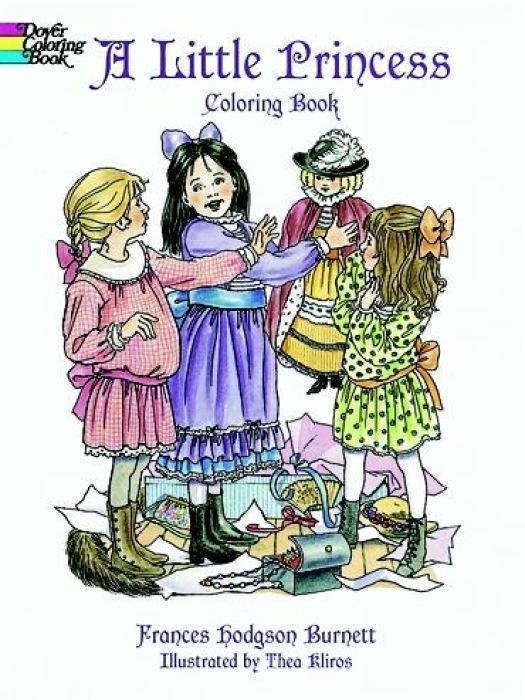 A Little Princess Coloring Book als Taschenbuch
