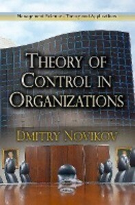 Theory of Control in Organizations als Buch (gebunden)