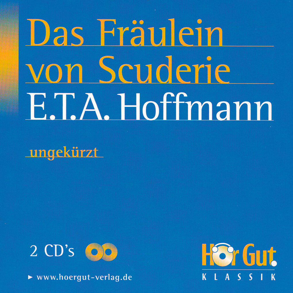 Das Fräulein von Scuderi als Hörbuch Download