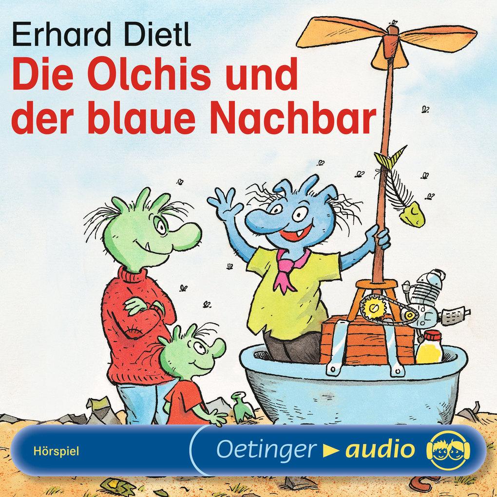 Die Olchis und der blaue Nachbar als Hörbuch Download