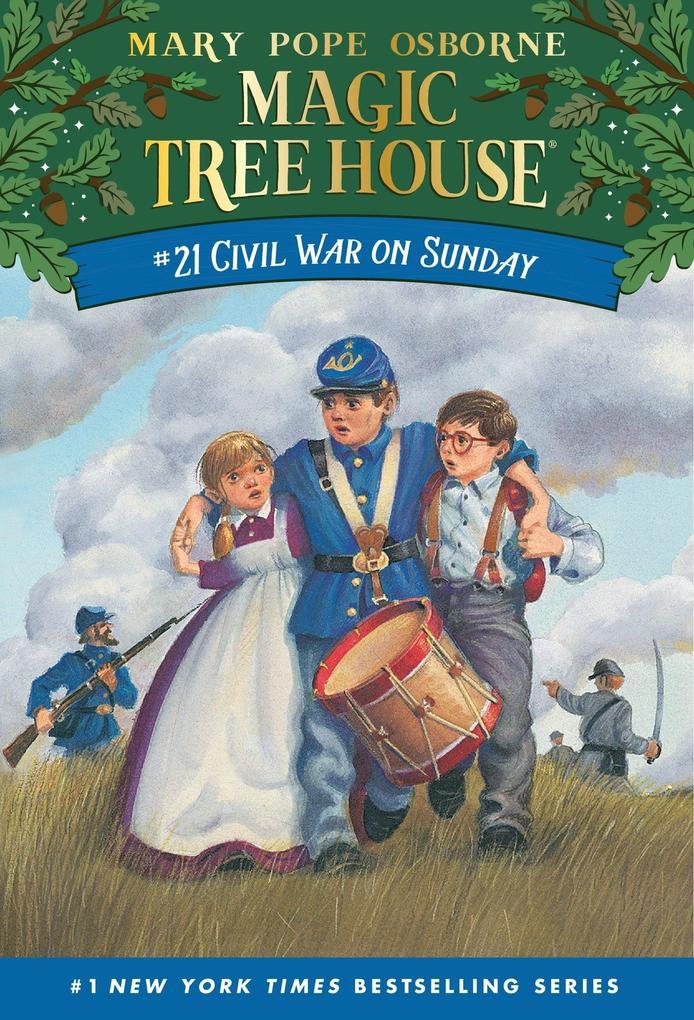 Magic Tree House 21 Civil War On Sunday als Taschenbuch