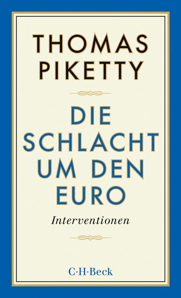 Die Schlacht um den Euro als eBook