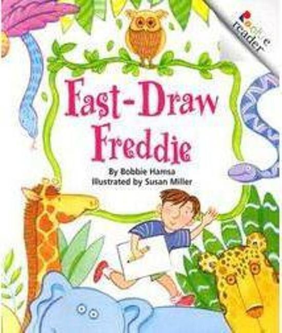 Fast-Draw Freddie (Revised Edition) (A Rookie Reader) als Taschenbuch