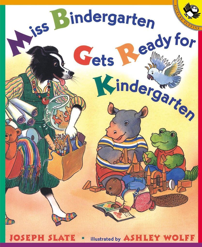 Miss Bindergarten Gets Ready F als Taschenbuch