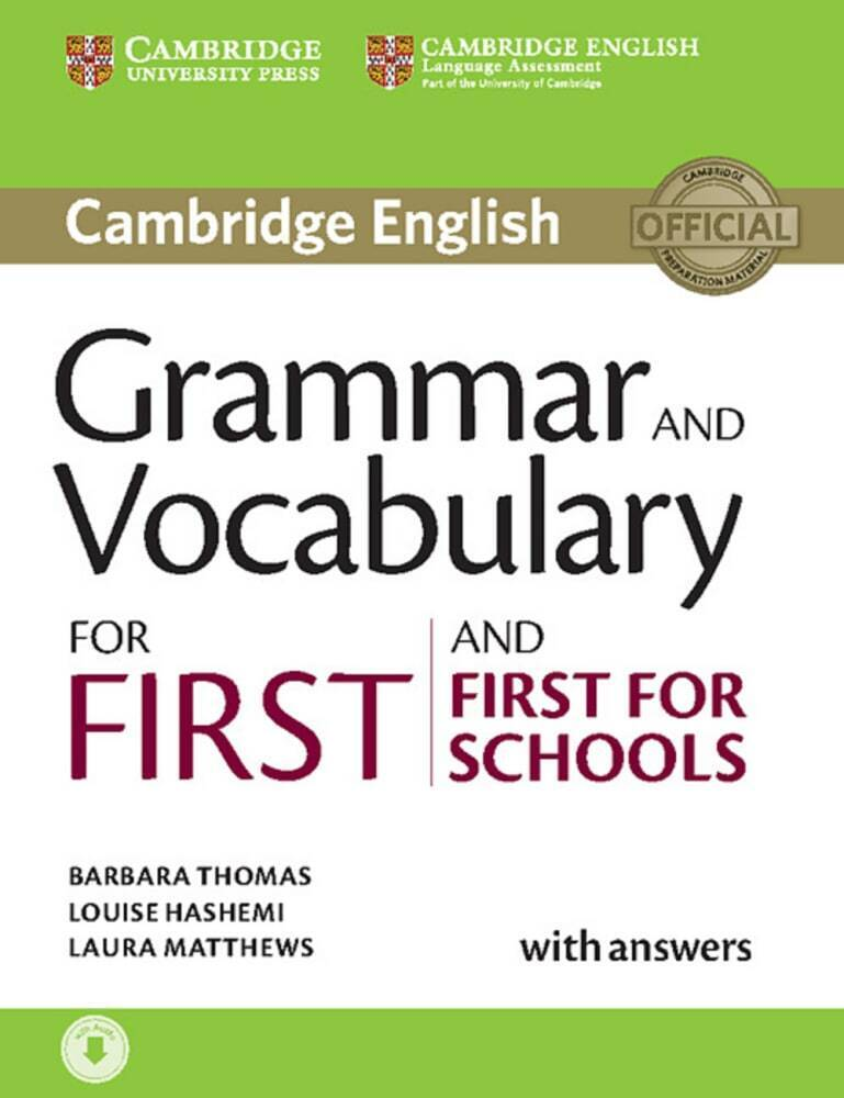 Grammar and Vocabulary for First and First for Schools als Buch (kartoniert)