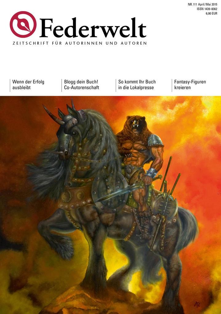 Federwelt 111, 02-2015 als eBook pdf