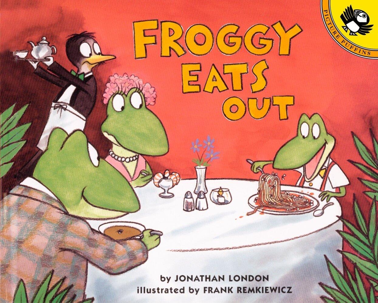 Froggy Eats Out als Taschenbuch