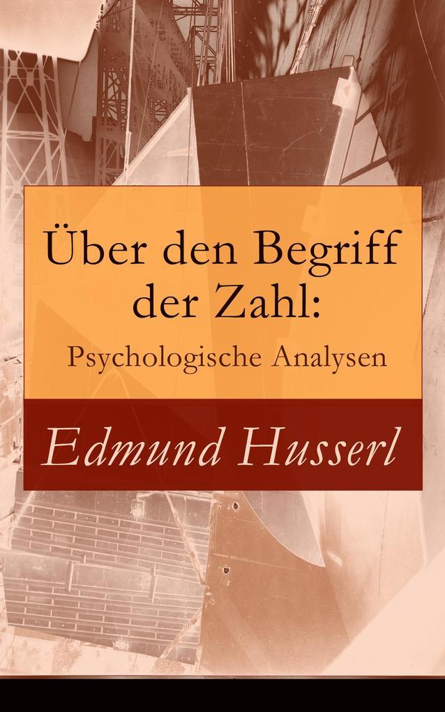 Über den Begriff der Zahl: Psychologische Analysen als eBook epub