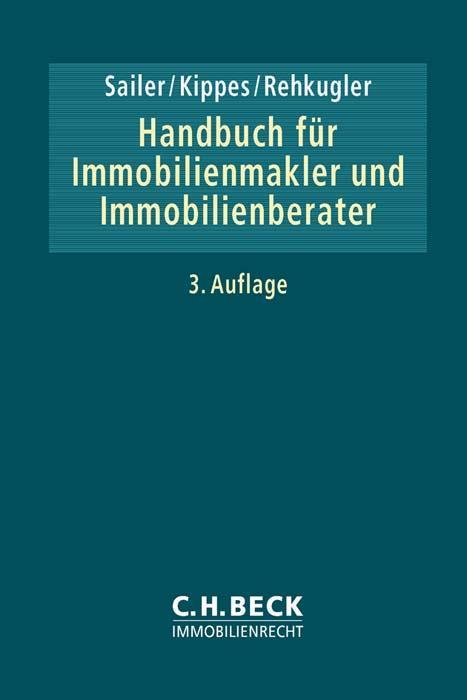 Handbuch für Immobilienmakler und Immobilienberater als Buch (gebunden)