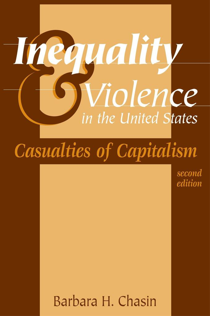 Inequality & Violence in the United States als Taschenbuch
