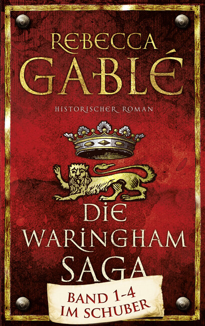 Die Waringham Saga 1-4: Das Lächeln der Fortuna/ Die Hüter der Rose/ Das Spiel der Könige/ Der dunkle Thron als Buch