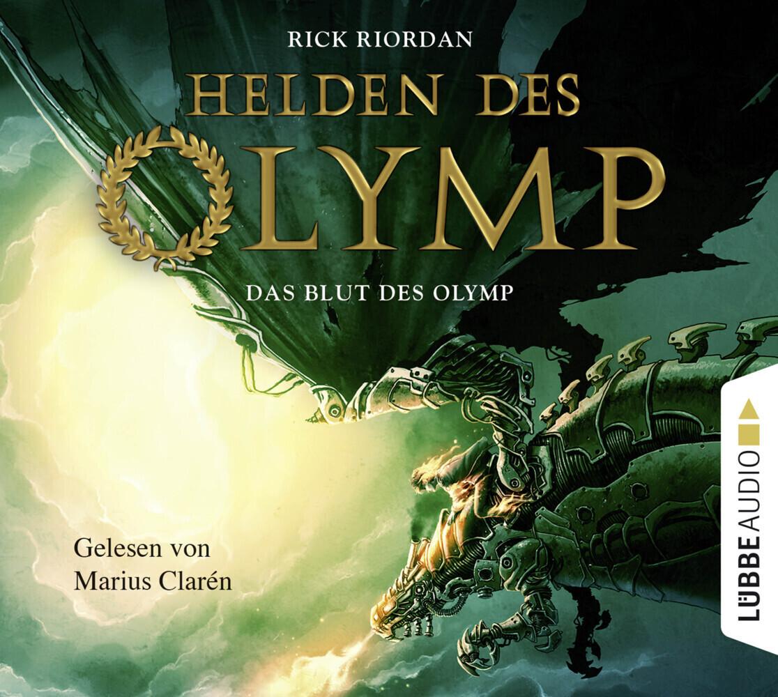 Helden des Olymp 05: Das Blut des Olymp als Hörbuch CD