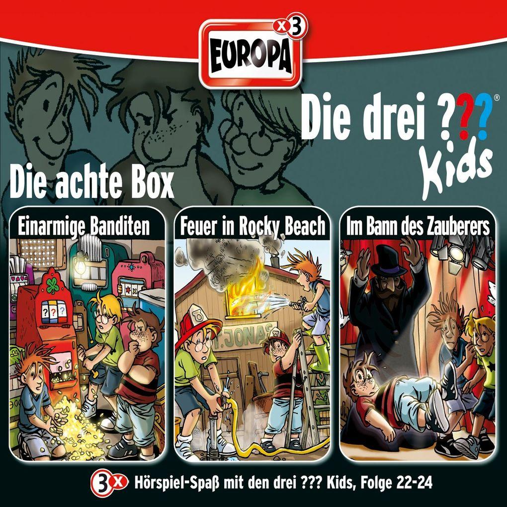 Die drei ??? Kids 3er Box. Folgen 22 - 24 (drei Fragezeichen) 3 CDs als Hörbuch CD