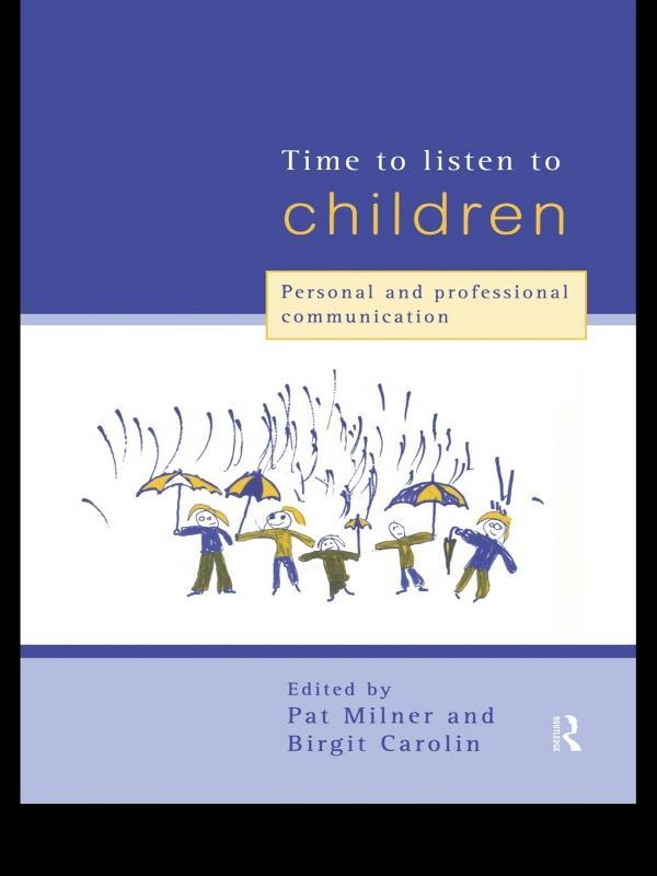 Time to Listen to Children als eBook epub