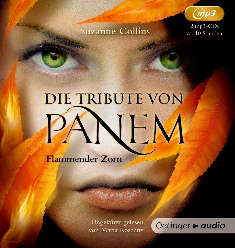 Die Tribute von Panem 3. Flammender Zorn (2 MP3 CDs) als Hörbuch CD