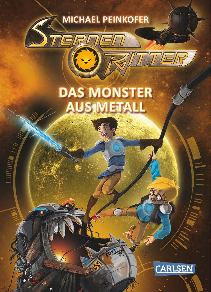 Das Monster aus Metall als Buch (gebunden)
