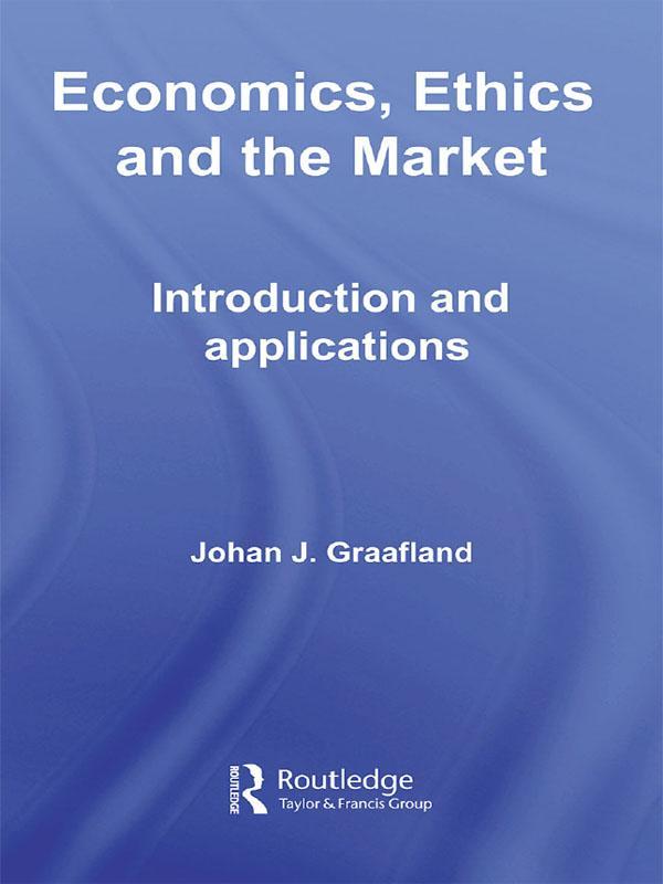 Economics, Ethics and the Market als eBook epub